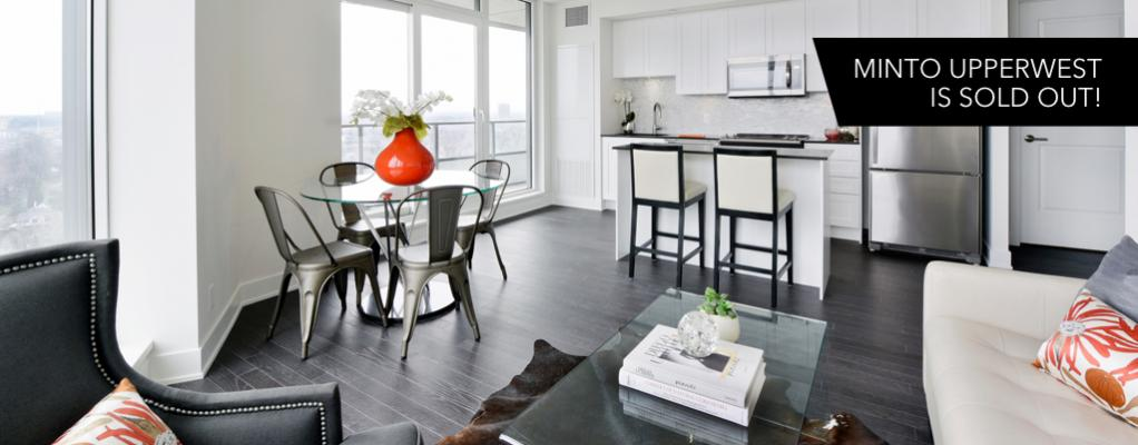 Minto UpperWest Condo is now sold out!