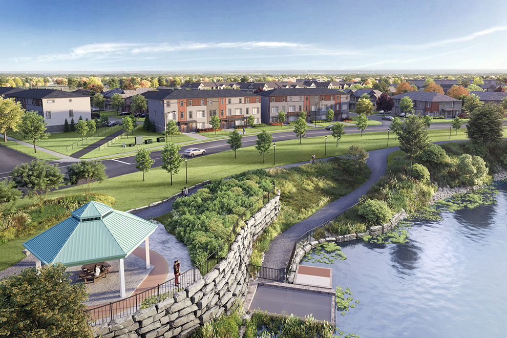 Rendering of Avalon Aquaview, Orléans
