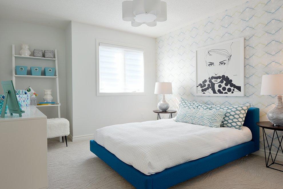 36' Single Family Home, Georgian - Bedroom