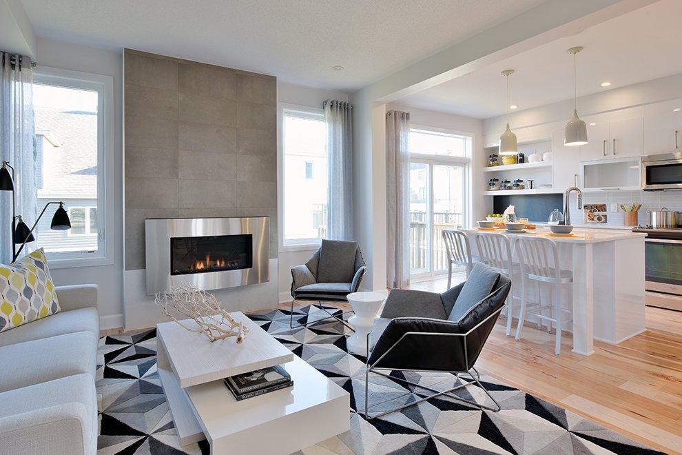 30' Single Family Home, Hyde - Living Room