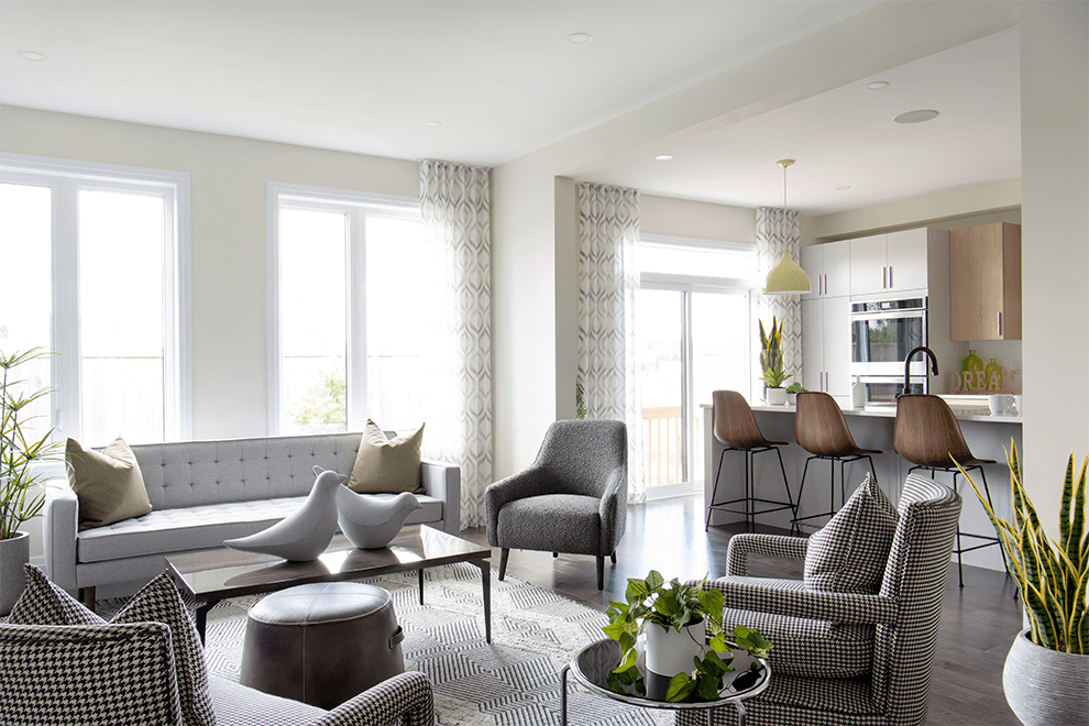 Avalon – Stanley: Living Area – Single Family Home