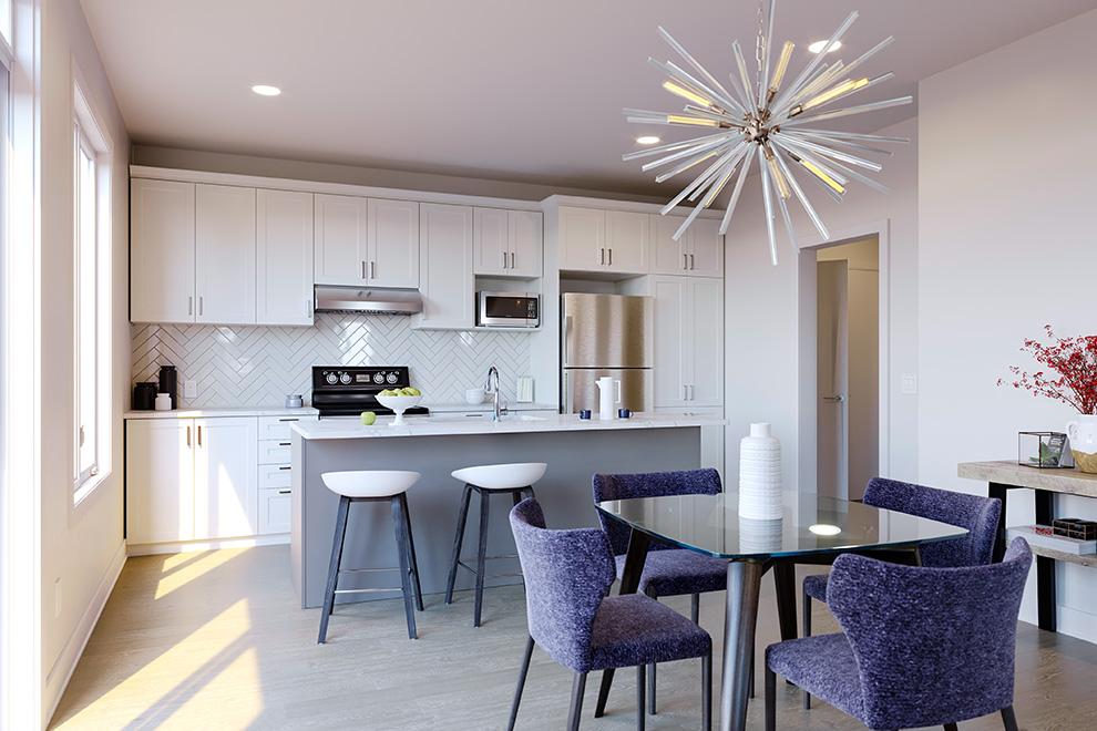 43' Single Family Home, Darlington - Kitchen