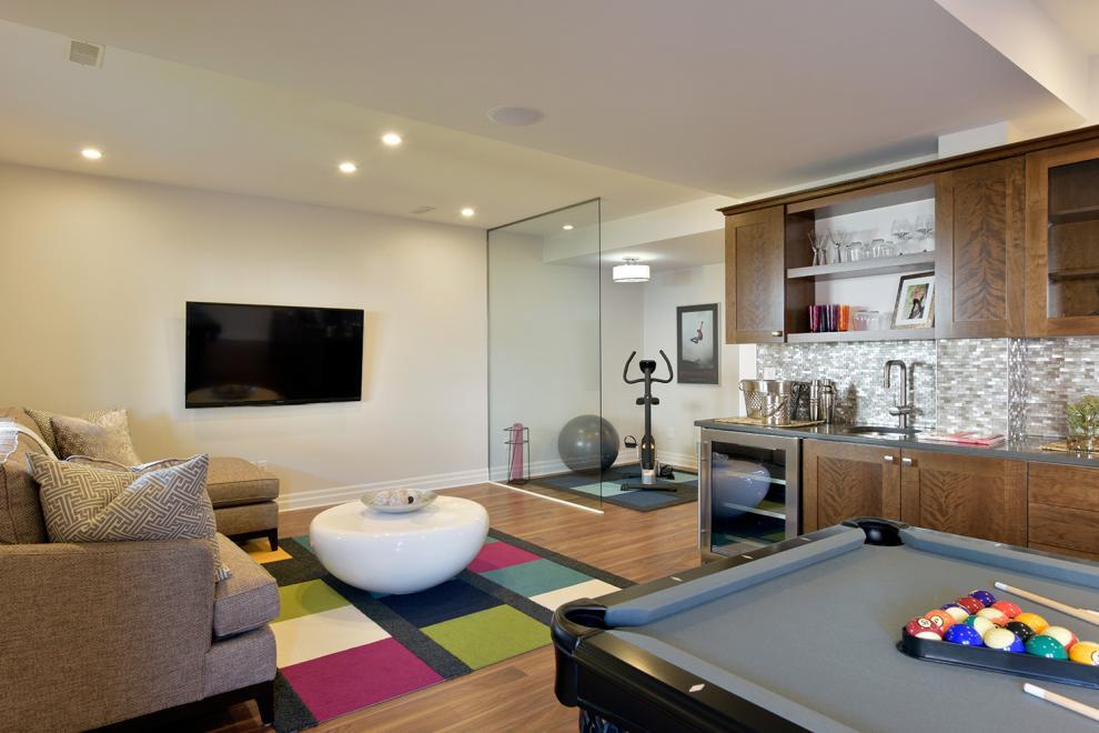 36' Single Family Home, Killarney - Basement