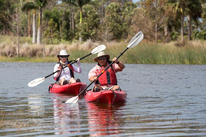 Explore the Cypress Waterway by kayak
