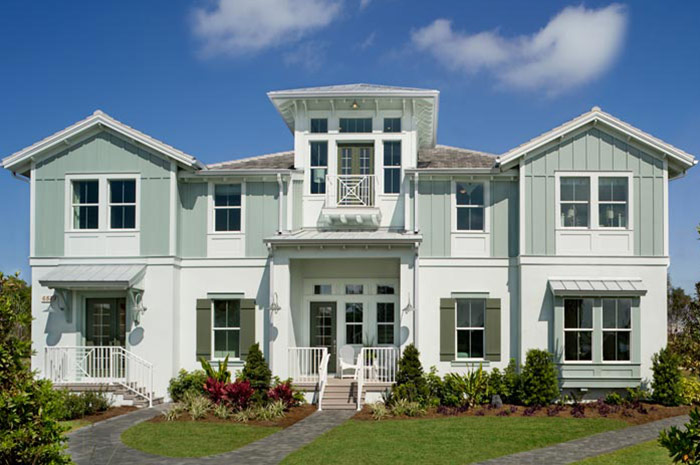 One, two and three story coach homes with 2 to 3 bedrooms