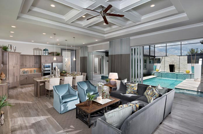 Open floorplan perfect for entertaining (Tamarind Grande shown)