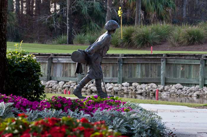 Play where the pros play, regarded as one of the finest courses in Florida