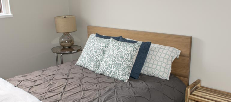 Bedroom at the Navaho Apartments for rent