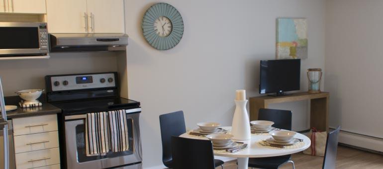 Kitchen at the Navaho Apartment