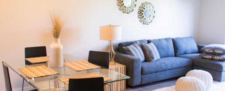Navaho Townhomes and Garden Homes in Ottawa Living Room