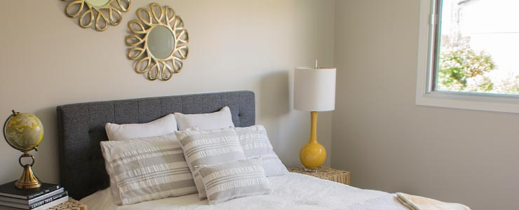 Navaho Townhomes and Garden Homes in Ottawa Bedroom view