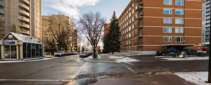 Edmonton Apartment Rental Building
