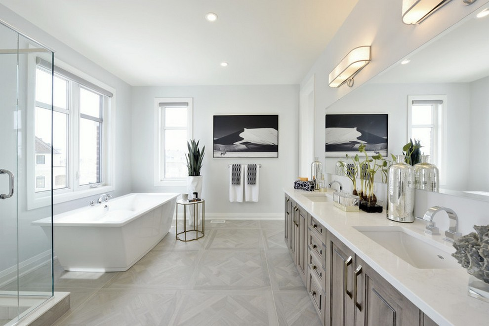 Elderberry - Single Family Home - Ensuite Bathroom