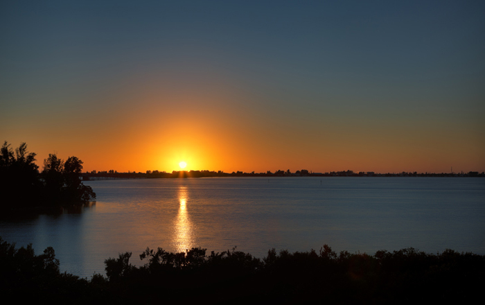 Enjoy the beautiful Gulf sunset from your home