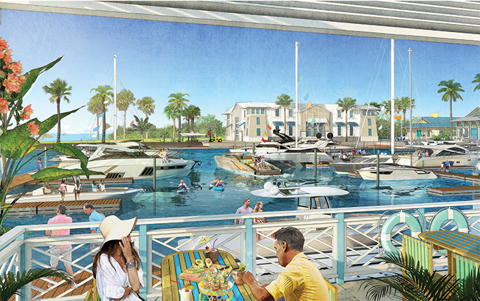 Our state of the art marina