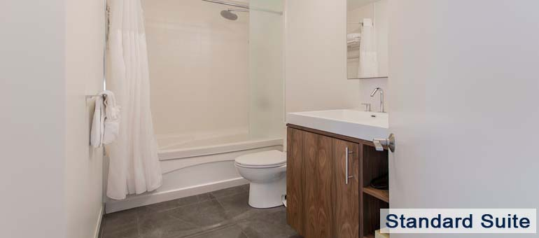 Bathroom in Luxury Apartments For Rent in Yorkville Downtown Toronto