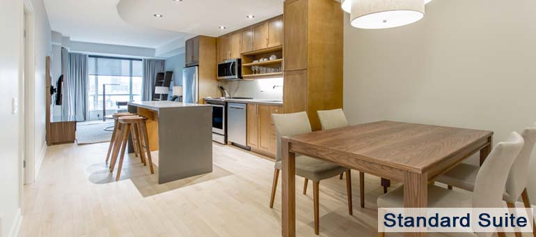 Dining Room in Luxury Apartments For Rent in Yorkville Downtown Toronto
