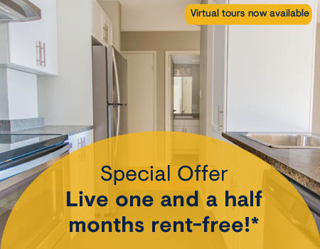 Apartments for Rent in Central Downtown Edmonton