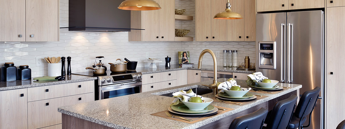 Kitchen At Avalon Encore Home in Orleans Ottawa