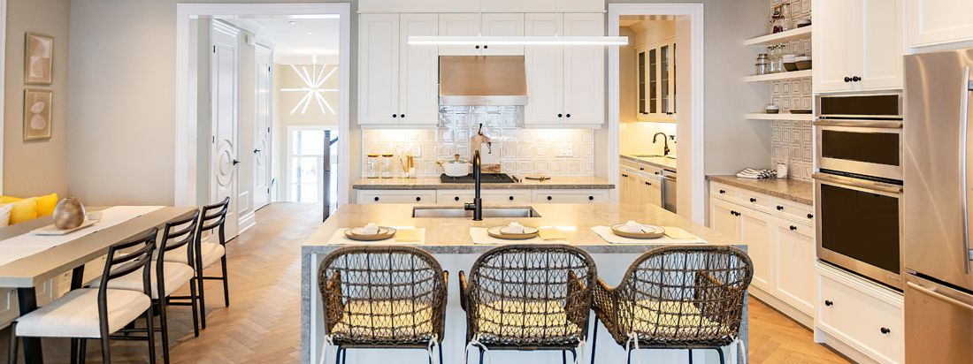 Interior Kitchen. Homes For Sale at Glen Agar in Etobicoke