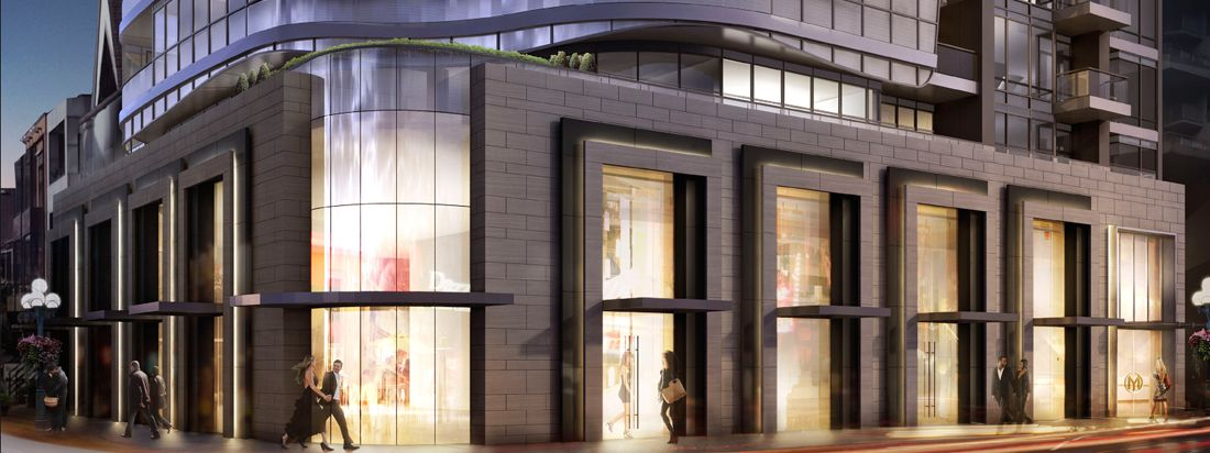 Minto Yorkville Park high rise condo in the heart of the city.