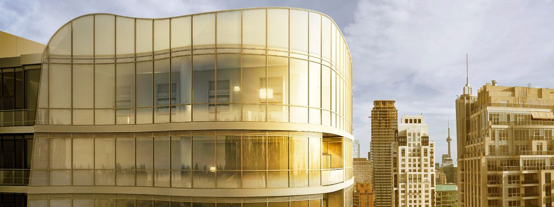 Minto Yorkville Park is 25 stories high in the heart of the city