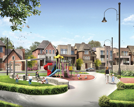 Glen Agar single family traditional homes now on sale in Etobicoke.