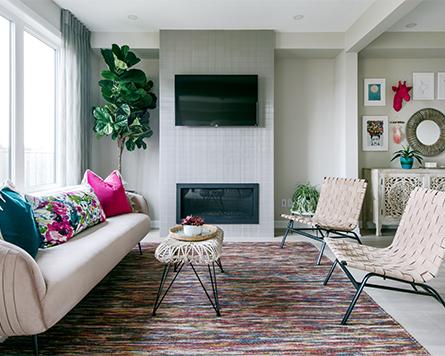 Living Area of the Kinghurst Single Family Home Avalon Orléans